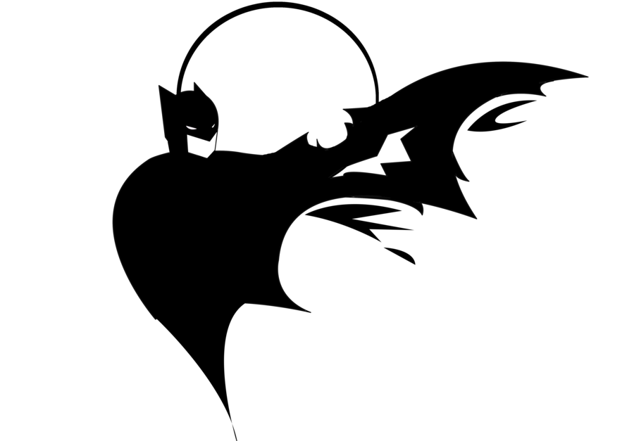 900x627 Batman Logo Stencil