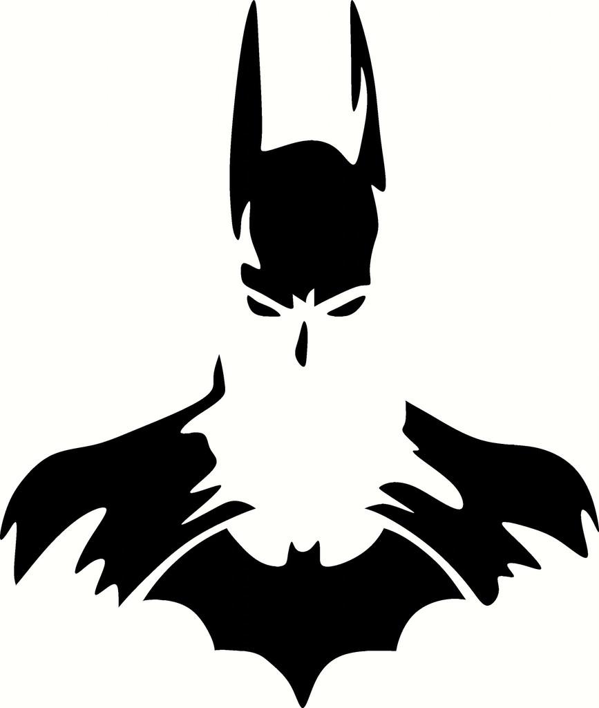 867x1024 Batman Clipart Silhouette