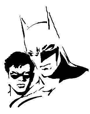 310x389 Beautiful Nightmare Before Christmas Clip Art Batman Stencils
