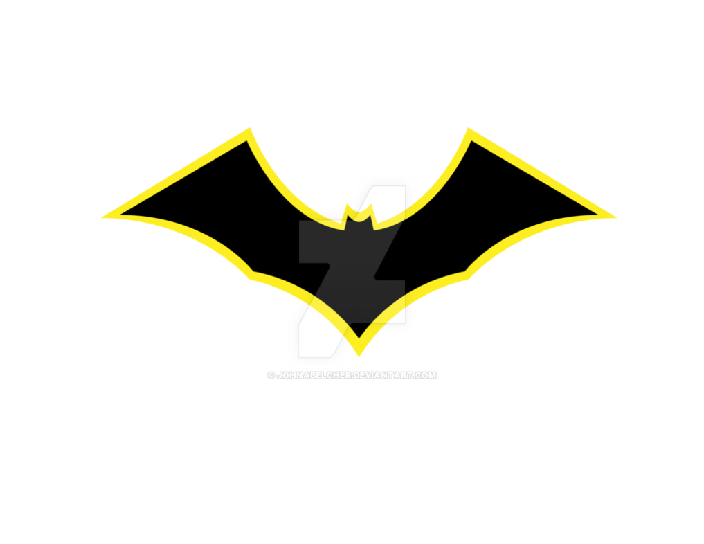 1017x786 My Batman Symbol By Johnabelcher On DeviantArt