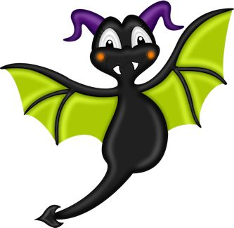 Bats Cartoon Clipart
