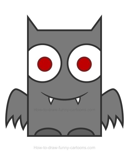 520x630 Bat Clipart
