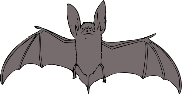 600x312 Bat Clip Art Free Vector In Open Office Drawing Svg ( Svg