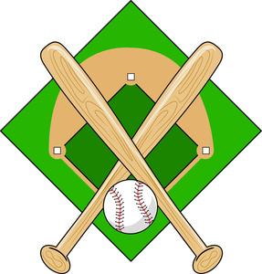 287x300 Baseball Bat Clipart