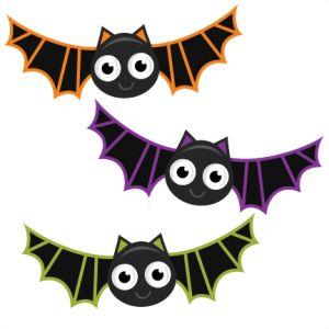 300x300 Halloween Bats Clipart 2 Nice Clip Art
