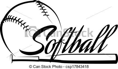 450x264 Softball Bat Clipart Many Interesting Cliparts