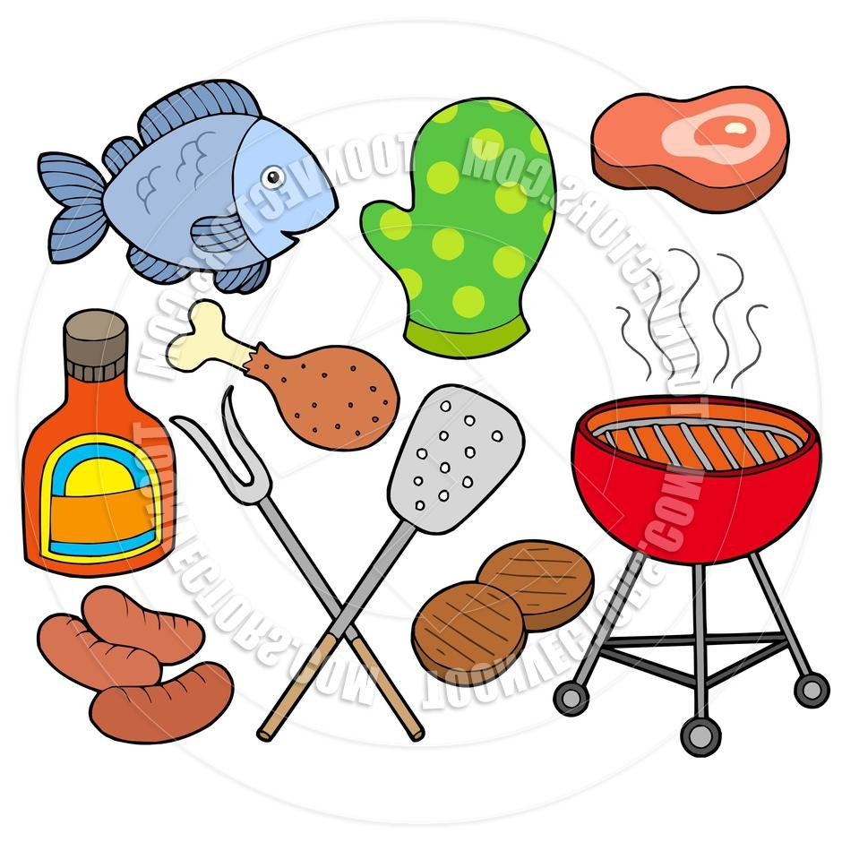 940x940 Cooked Salmon Clipart Barbecue Chicken Clip Art