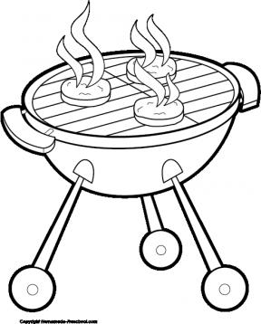 288x358 Hamburger Clipart Cookout