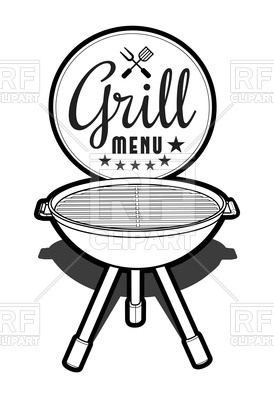 274x400 Barbecue Grill Icon Royalty Free Vector Clip Art Image