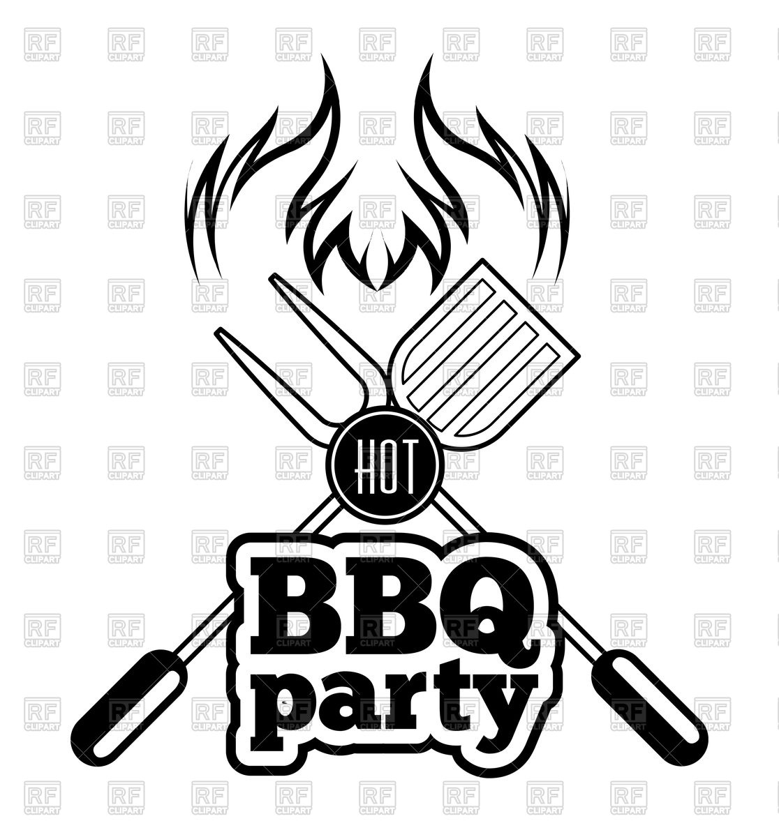 1116x1200 Barbecue Grill Icon Royalty Free Vector Clip Art Image