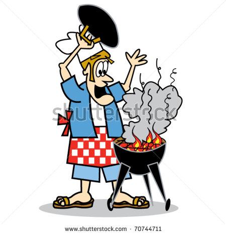 450x466 Barbecue Clipart Bbq Chef