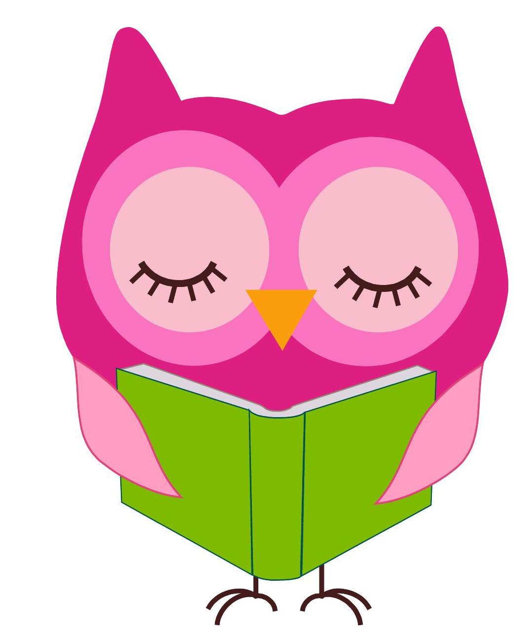 1073x1296 Owl Reading Clip Art