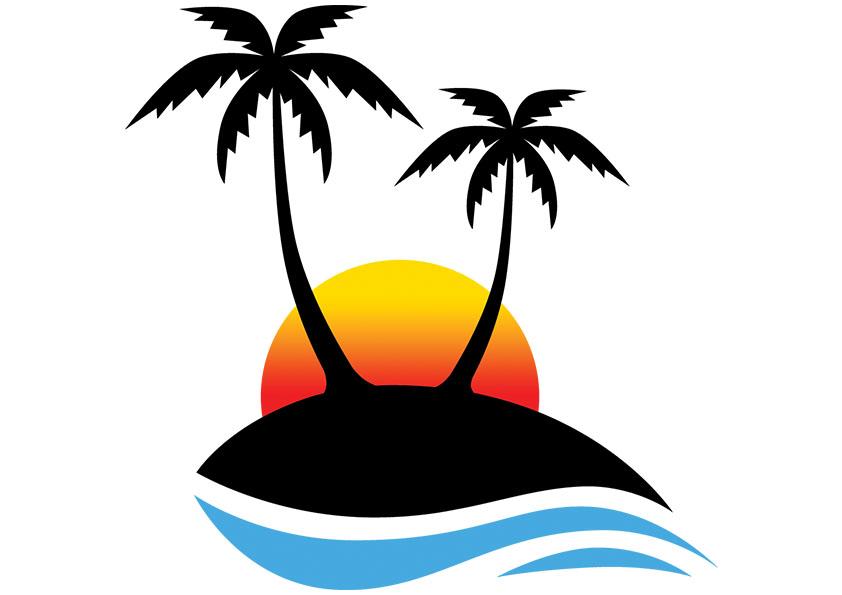 842x595 Beach clip art clipart image 4 2