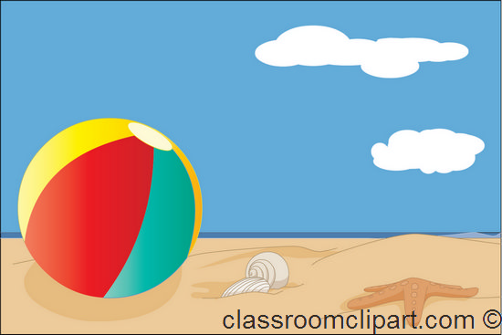 550x367 Tropical Beach Clip Art Free Beach Clipart Beach Ball Free Clip 2