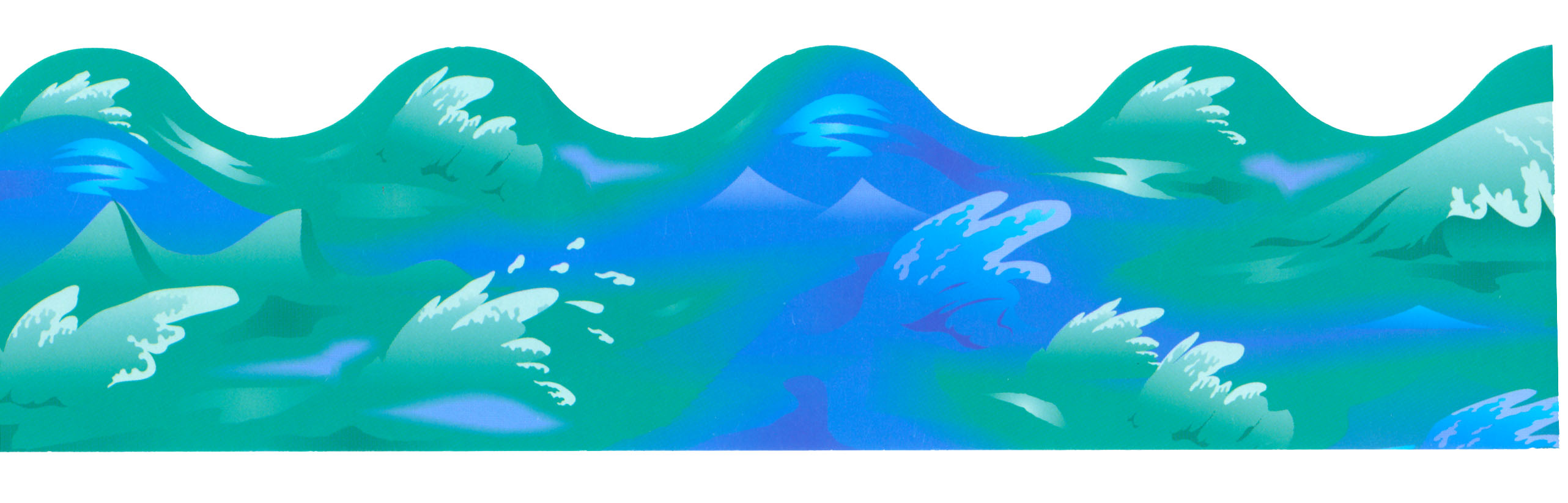 2564x822 Ocean Clipart Beach Wave