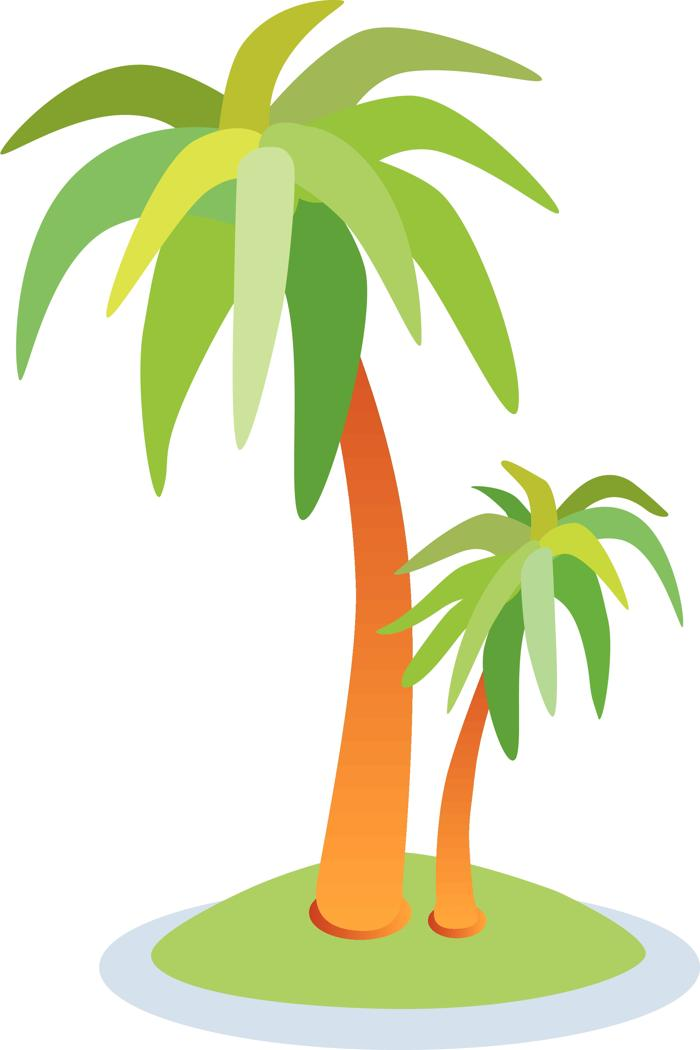 700x1050 Background Clipart Palm Tree