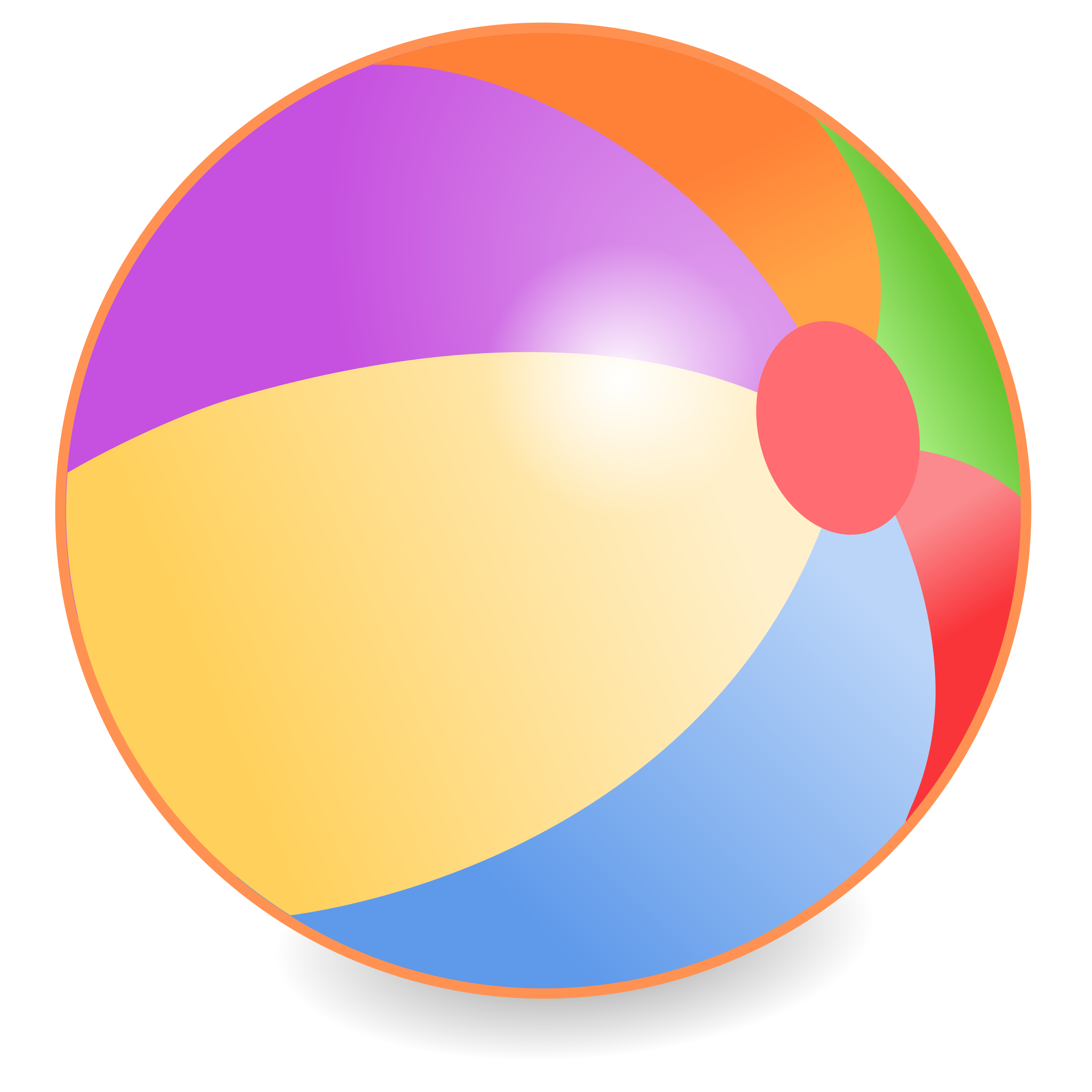 2400x2400 Beach Ball Clipart Beachball