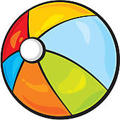 170x170 Beach Ball Clip Art