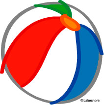 212x213 Beach Ball Clip Art
