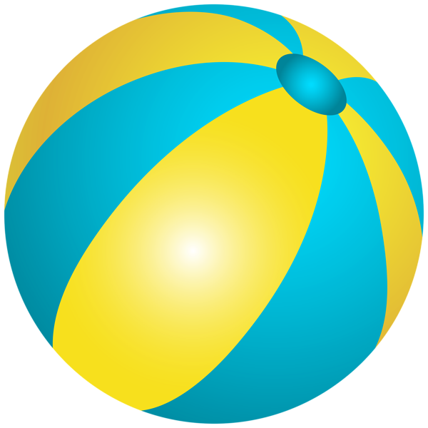 600x600 Beach Ball PNG Clip Art Image Transparentes Sommer