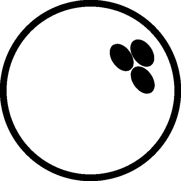 600x600 Bowling Ball White Clip Art