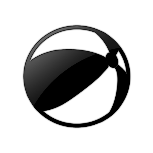 512x512 Beach Ball (Balls) Icon