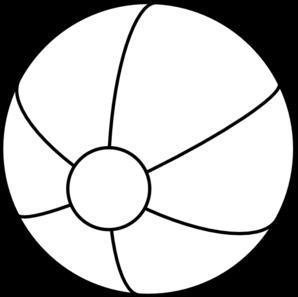 298x297 Beach Ball Clip Art