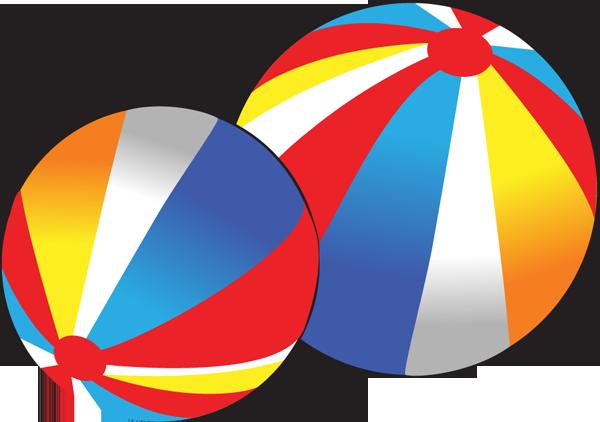 600x422 Beach Ball Clip Art 2 Image