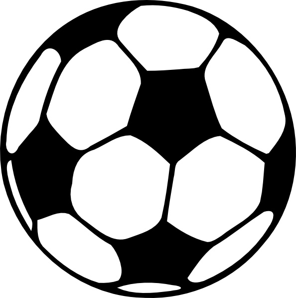 594x597 Football Ball Clip Art Free Vector In Open Office Drawing Svg