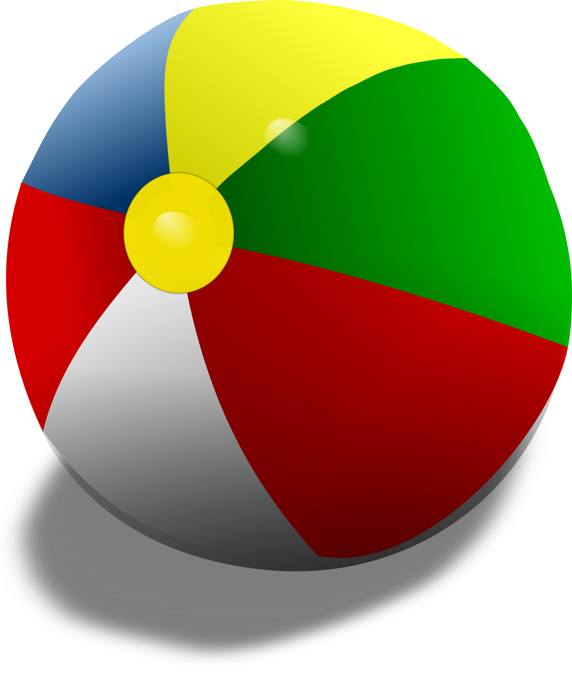 2400x2829 Beach Ball Clipart 2087580