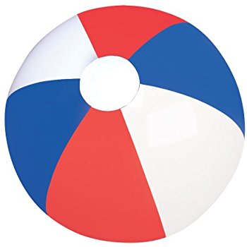 350x350 American Patriotic Beach Ball (Set Of 2) 4th Of July
