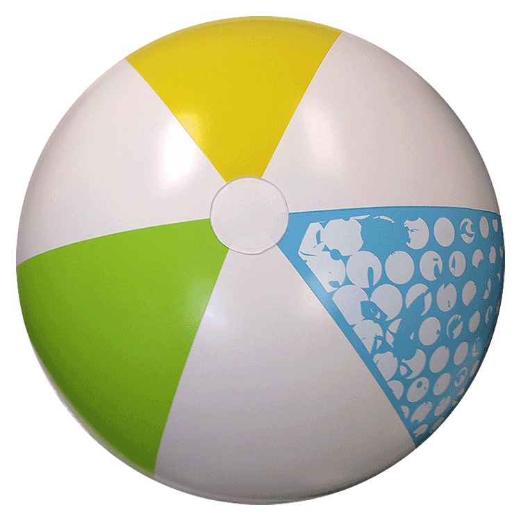 750x750 46 Inch Summer Classic Beach Balls