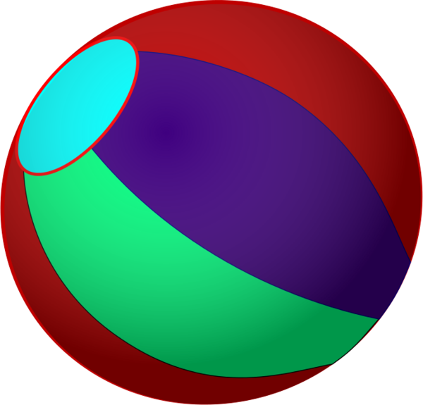 600x575 Multi Color Beach Ball Vector Clip Art Multicolor Beach