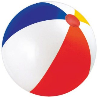 328x320 48 inch Promotional Beach Balls with Custom Logo