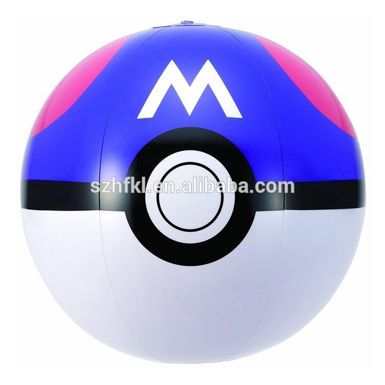 750x750 Inflatable Pokemon Beach Ball, Inflatable Pokemon Beach Ball