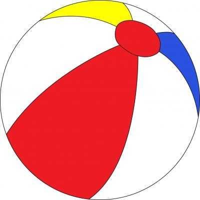 400x399 Top 10 Beach Ball Images Clip Art