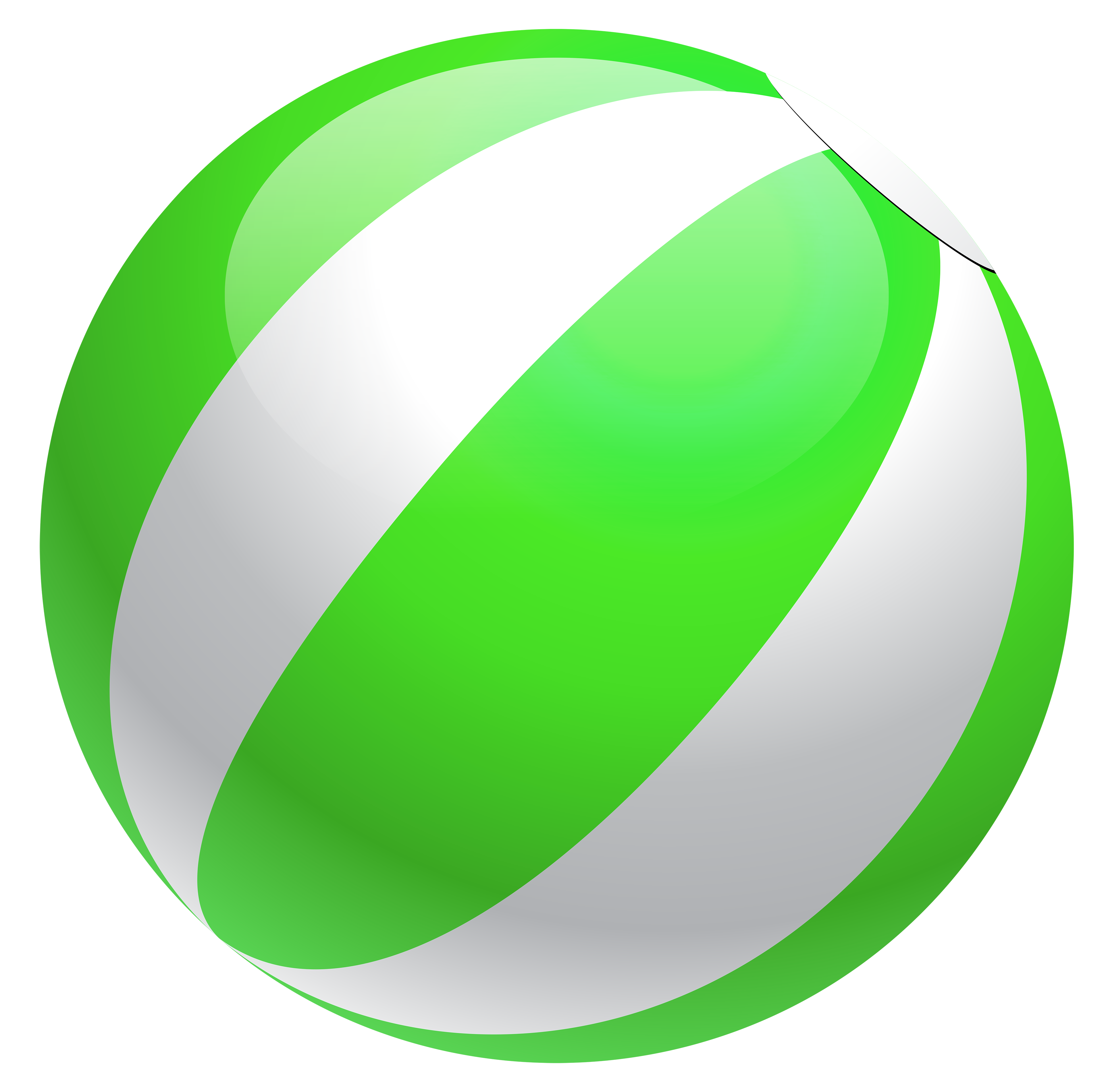 3899x3840 Transparent Green Beach Ball PNG Clipartu200b Gallery Yopriceville