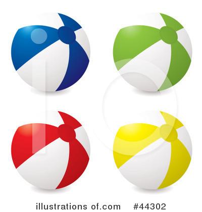 400x420 Beach Ball Clipart