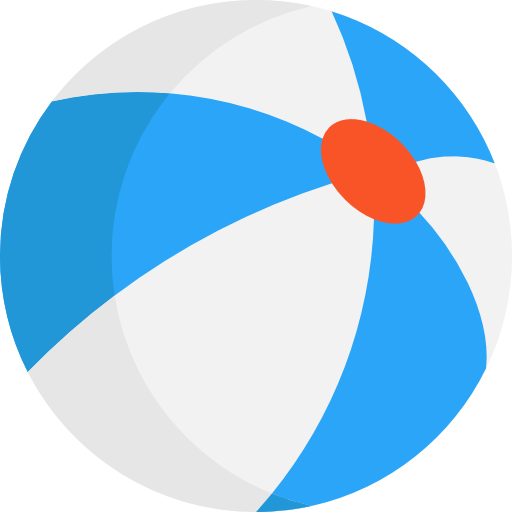 512x512 Beach Ball Icon