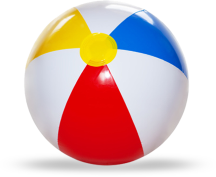 432x353 Beach Ball Png Transparent Images Png All
