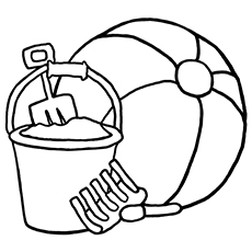 230x230 Top 20 Free Printable Beach Ball Coloring Pages Online