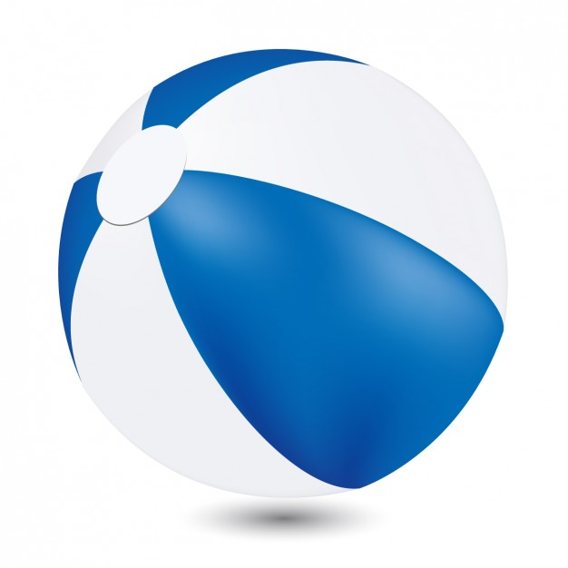 626x626 Beach Ball Vector Free Download