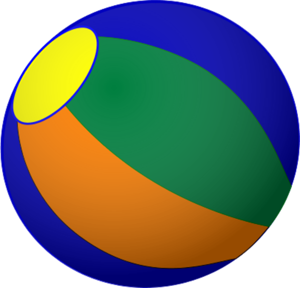 600x575 Beach Ball Clip Art Vector Hubprime
