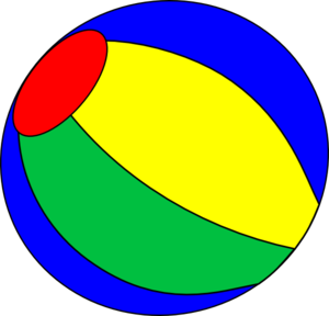 300x288 Multilor Beach Ball Vector Clip Art Clipartix