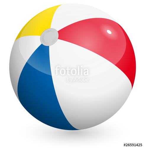 487x500 Beach Ball Vector Stock Image And Royalty Free Vector Files