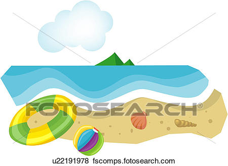 450x328 Clip Art Of Beach Ball, Lifestyle, Float Tube, Recreation, Leisure