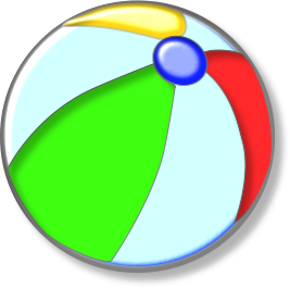 267x265 Weekends Beach Ball Clipart, Explore Pictures