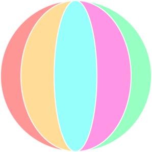 298x297 Beach Ball Clip Art