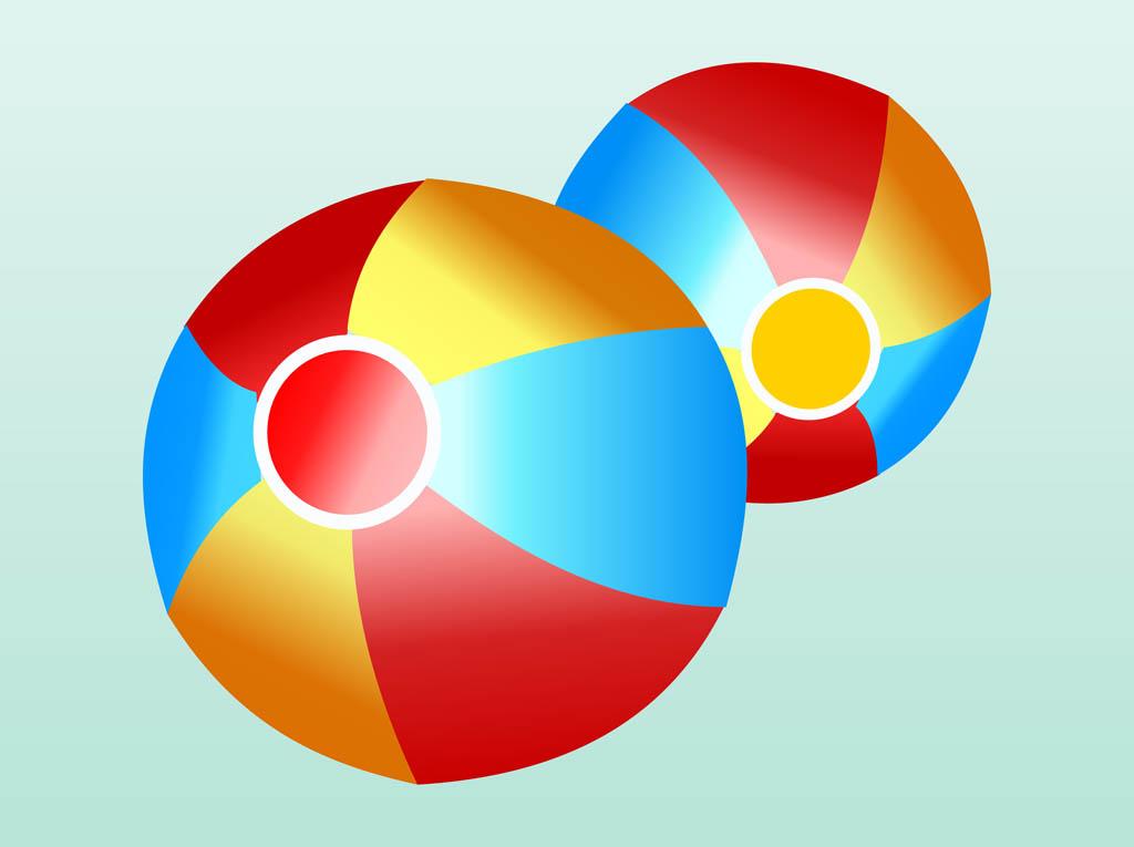 1024x765 Beach Balls Vector Art Amp Graphics