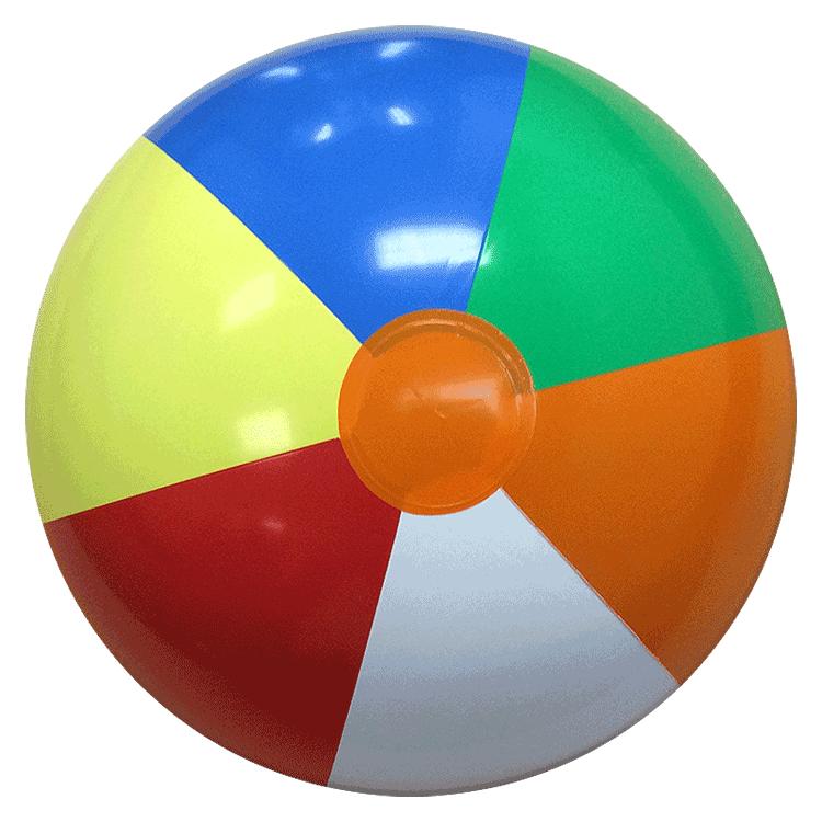 750x750 16 Inch' Multicolor P7 Beach Balls